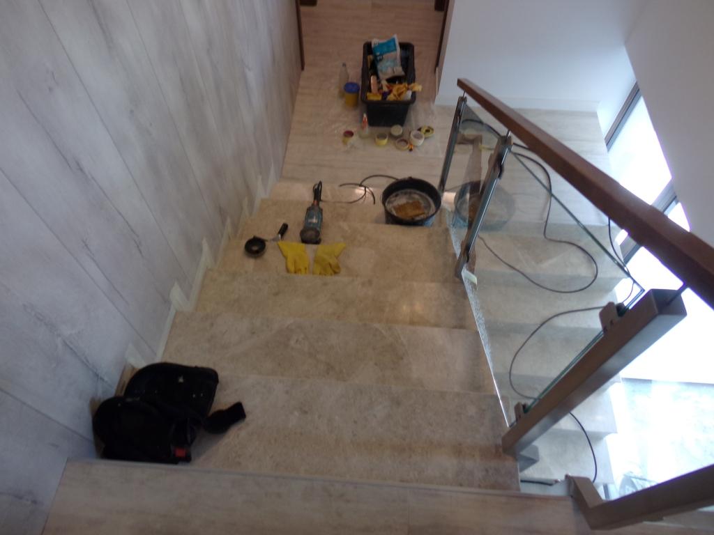 slefuire lustruire scari marmura